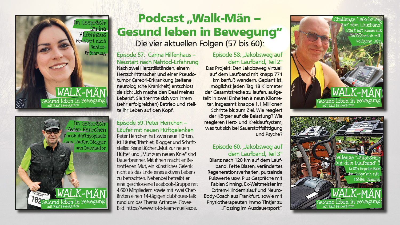 Walk-Män: Vier neue Podcast-Highlights im Juni erschienen