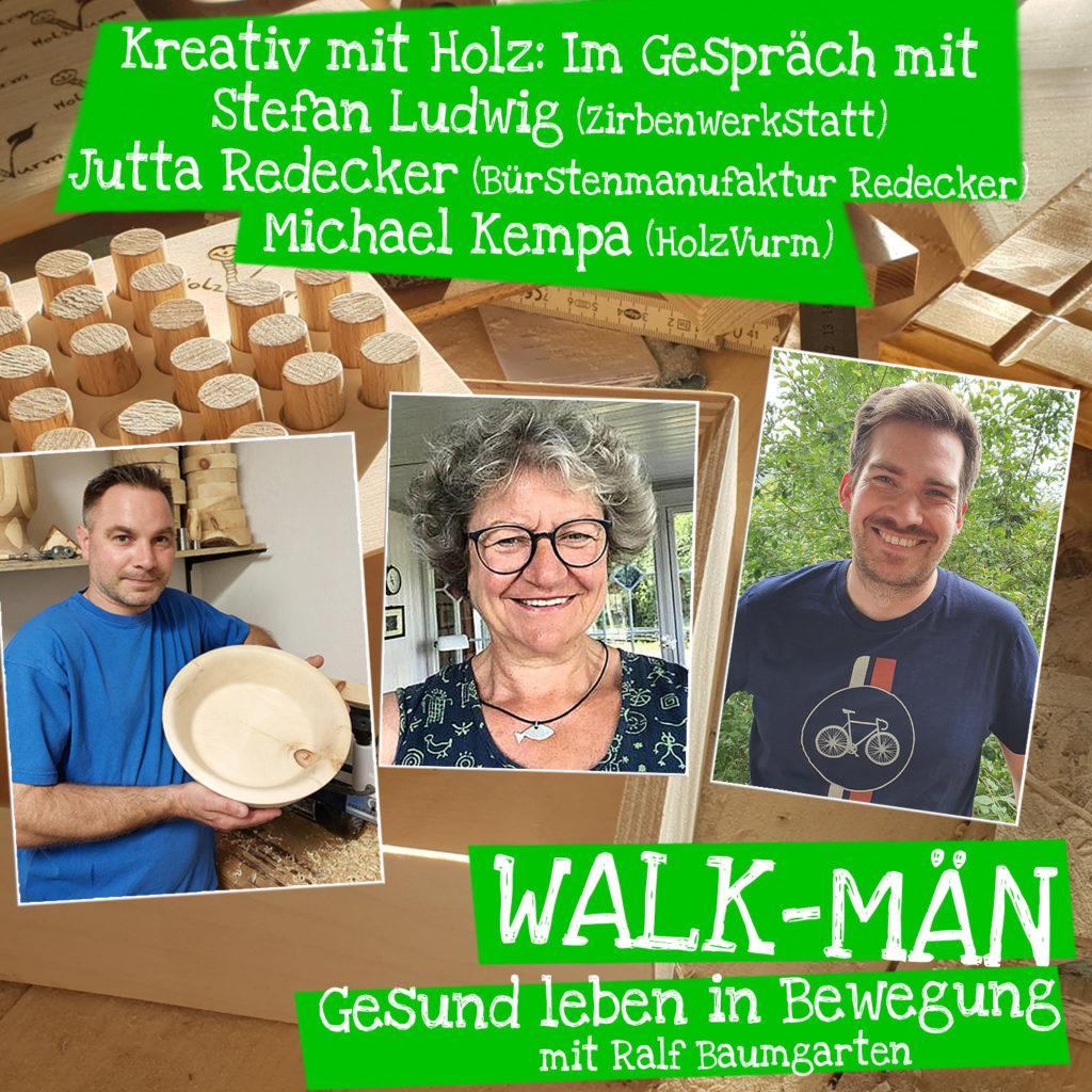 Kreativ mit Holz - Drei Künstler und Betriebe stellen sich vor